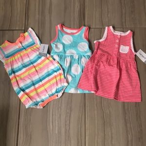 3 month romper and dresses